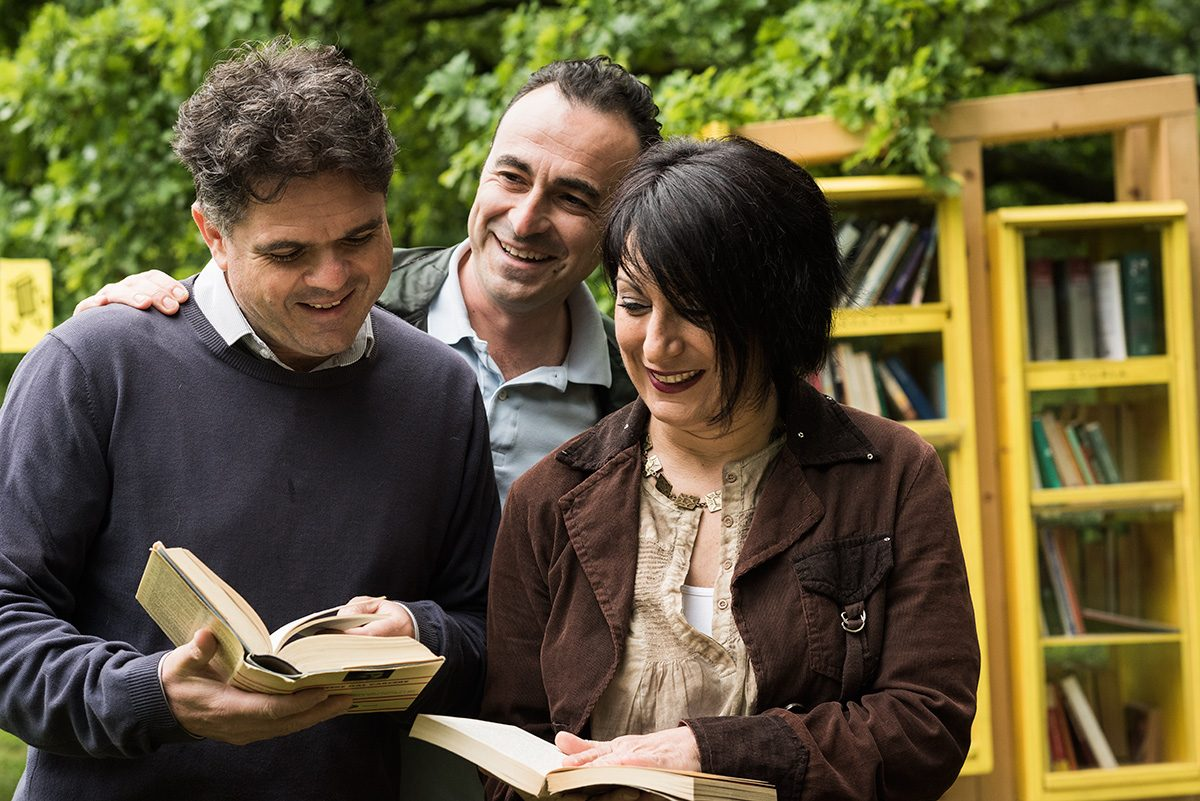 Vieni c'è un libro nel parco
