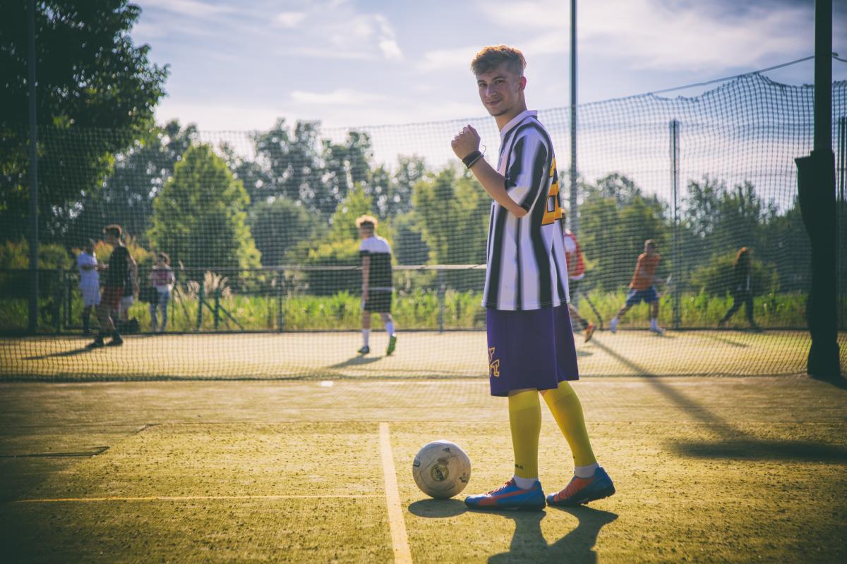 Torneo di calcio a Villa Sesso