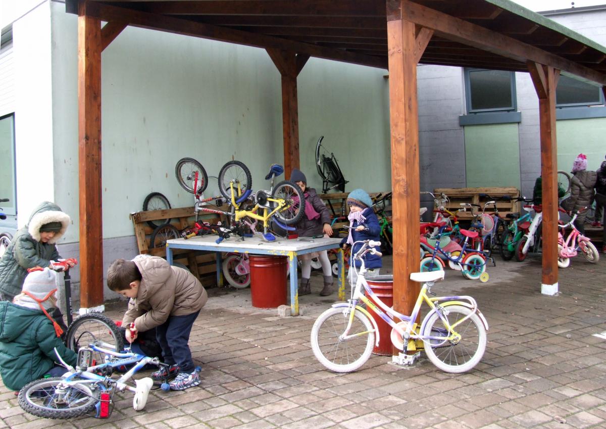 La scuola delle biciclette